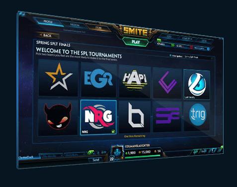 Tournament Voting Smite UI